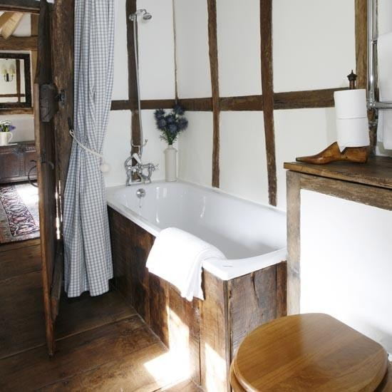 Na potrzeby pensjonatu ma e azienki aran acje for Small bathroom ideas uk